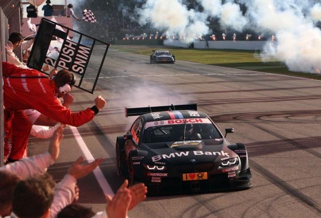 BMW reuşeşte o revenire de vis în DTM