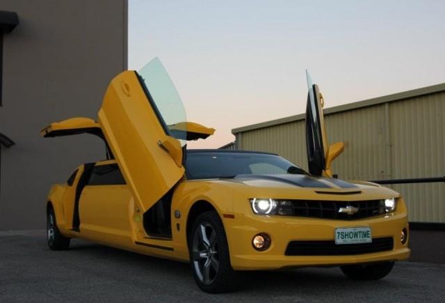 TUNING: Limuzina Chevrolet Camaro