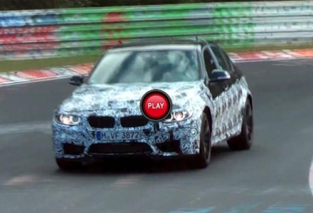 Material video spion cu viitoarea generatie BMW M3