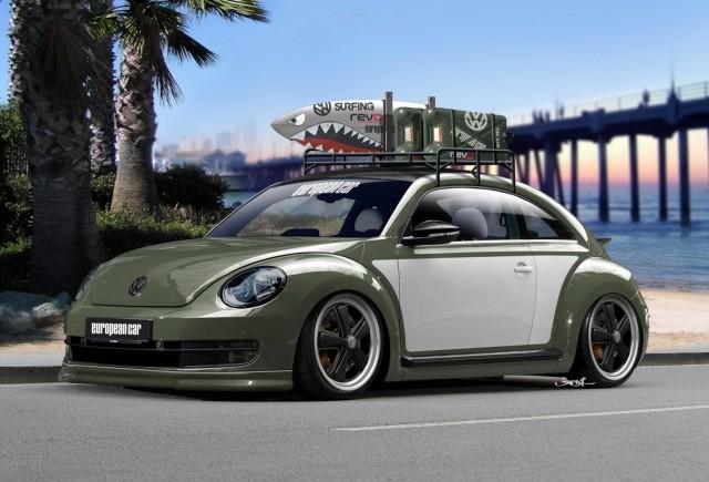 TUNING: Volkswagen Beetle la SEMA Show 2012