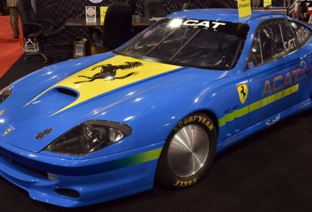 Ferrari 575 isi face simtita prezenta la SEMA Show 2012