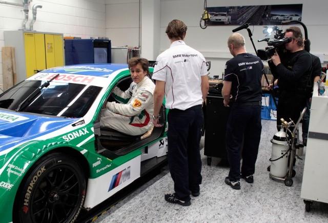 Alessandro Zanardi va testa BMW M3 DTM