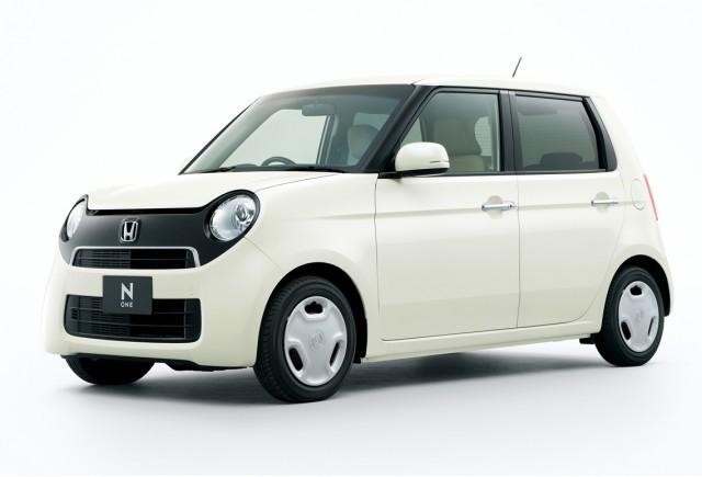 Imagini oficiale cu noul Honda N-One