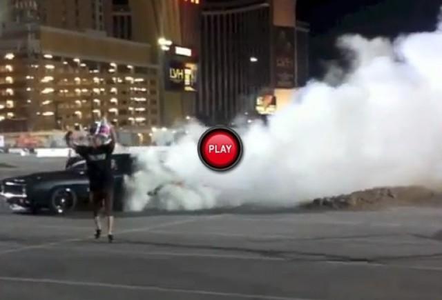 VIDEO: Spectacol de drifturi la SEMA Show 2012