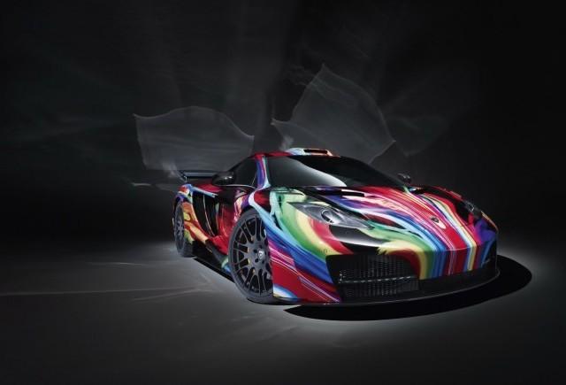 Hamann Motorsports modifica noul McLaren MP4-12C
