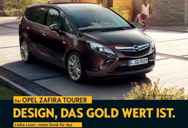 Opel Zafira Tourer câștigă