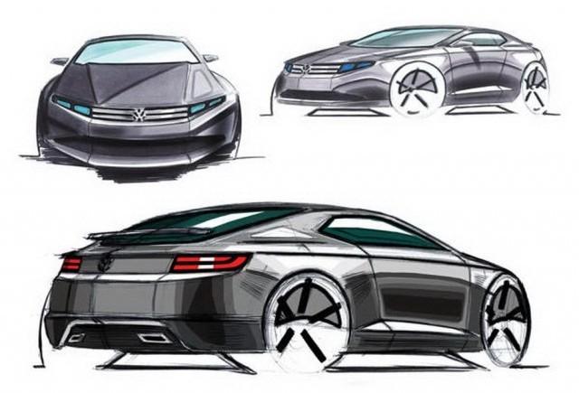 Studiu de design - Volkswagen Scirocco