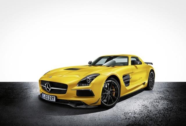 Imagini oficiale cu noul Mercedes SLS AMG Black Series Edition