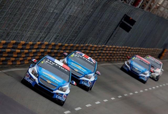 Chevrolet ocupă primele poziţii pe circuitul de la Macao