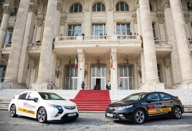 Opel Ampera, maşina oficială TEDx Bucharest