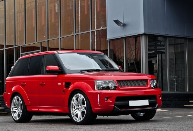 TUNING: Kahn Design modifica Range Rover Sport