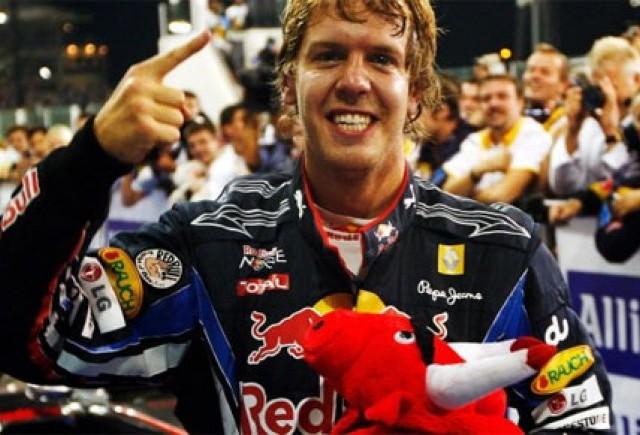 Vettel este cel mai tanar triplu campion mondial din istoria Formula 1