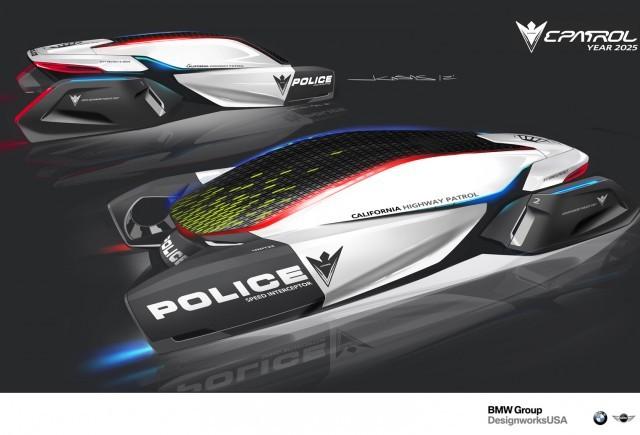 ePatrol: o viziune futuristă pentru maşinile de poliţie din anul 2025