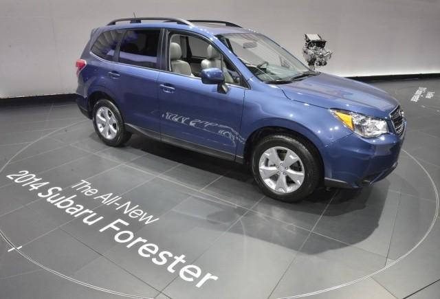 Noua generatie Subaru Forester a fost prezentata in Los Angeles