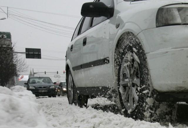 Romanii vor primi amenzi mai mari pentru lipsa anvelopelor de iarna