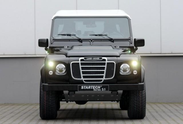 TUNING: Startech modifica Land Rover Defender
