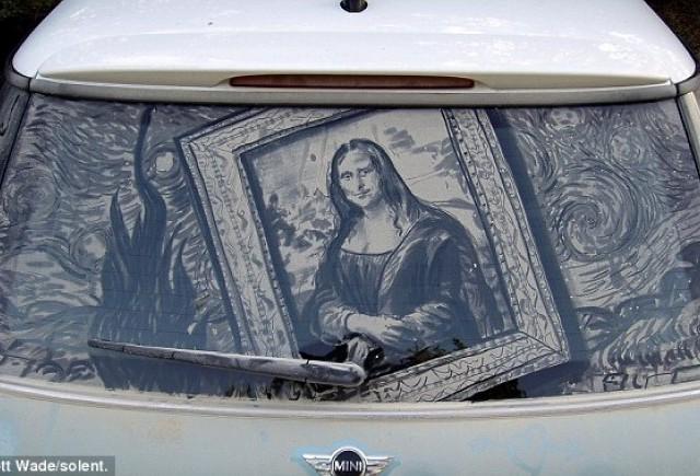 Cum sa transformi murdaria de pe masina in arta
