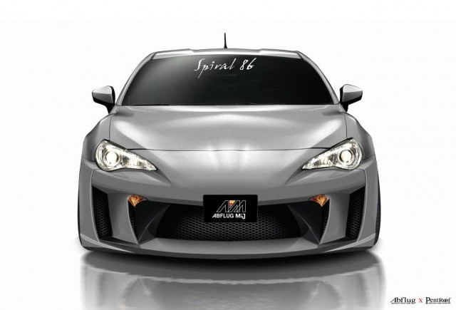TUNING: Abflug modifica Toyota GT86
