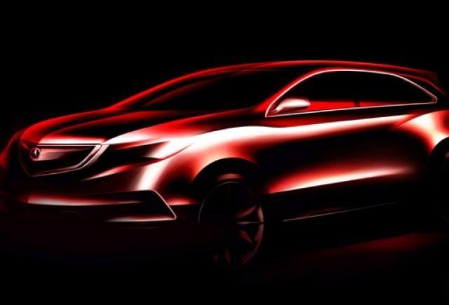 TEASER: Acura MDX 2014