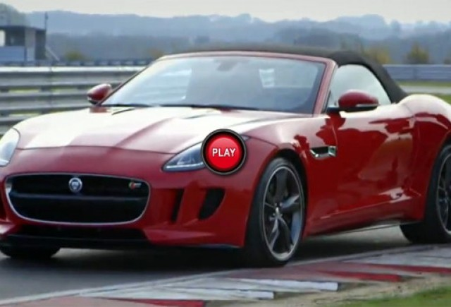VIDEO: Trei prezentatori TV testeaza noul Jaguar F-Type