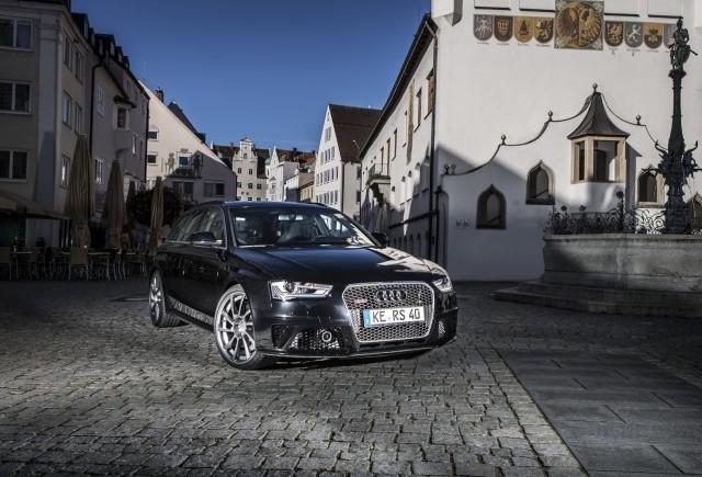 Un nou program de tuning pentru Audi RS4 Avant
