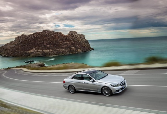 Imagini cu noul Mercedes E-Klasse 2014
