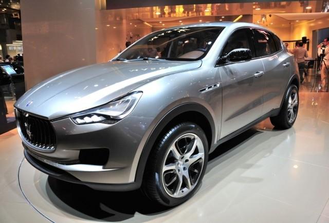 Cei de la Maserati ar putea lansa un SUV bazat pe modelul Kubang