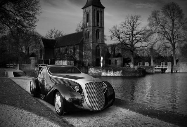 Eleganta la superlativ cu Rolls-Royce Phantom II Aerodynamic Coupe