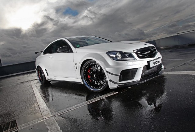 TUNING: Vath modifica Mercedes C63 AMG Black Series Edition