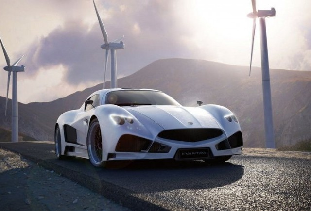 Un nou supercar italian - Mazzanti Evantra