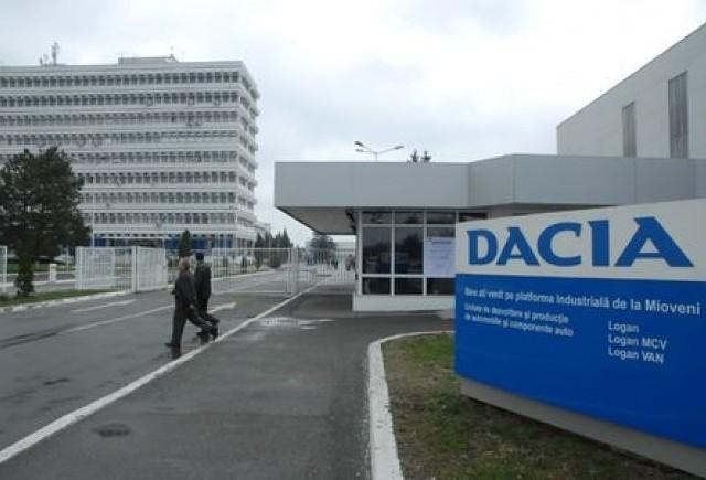 Proteste la Dacia