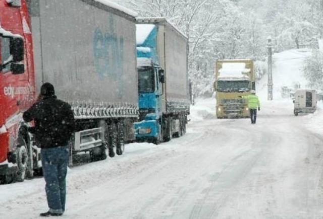 Probleme de trafic la punctul de frontiera din Giurgiu