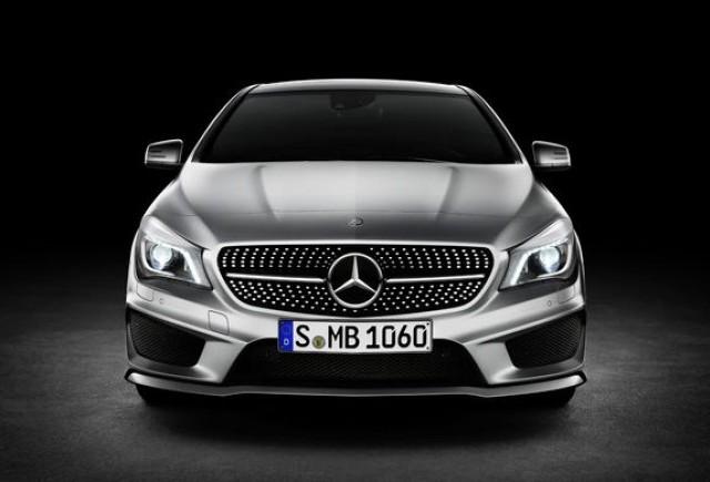 Mercedes CLA - Imagini si detalii oficiale