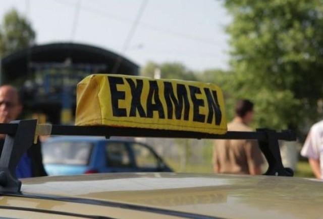 Majorari de taxe in cazul examenelor auto