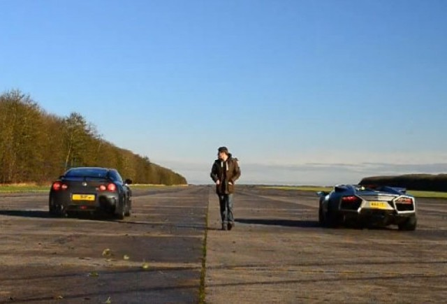 VIDEO: Nissan GT-R vs. Ducati 1098 vs. Lamborghini Reventon Roadster
