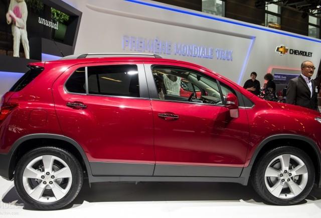 Chevrolet Trax se pregateste de lansarea europeana