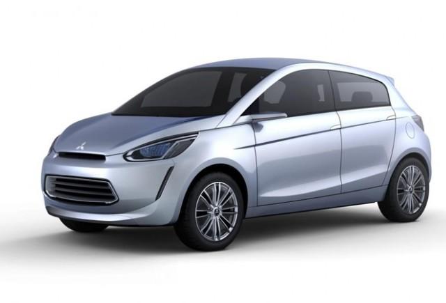 "Noul model Mitsubishi Global Small va purta denumirea ""Space Star"" în Europa"