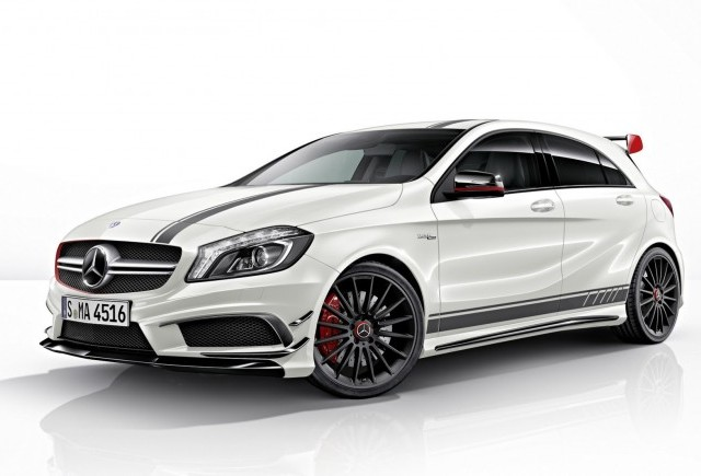 VIDEO: Mercedes A45 AMG Edition 1