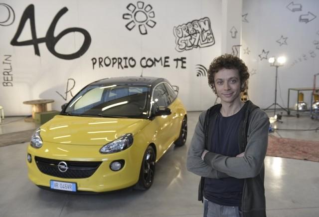 Valentino Rossi este imaginea Opel ADAM