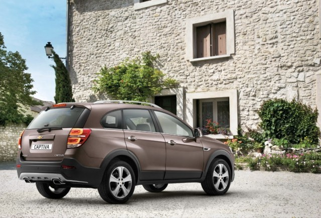 Chevrolet Captiva facelift debutează la Geneva