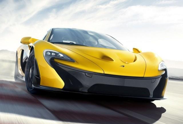 Imagini oficiale cu noul McLaren P1