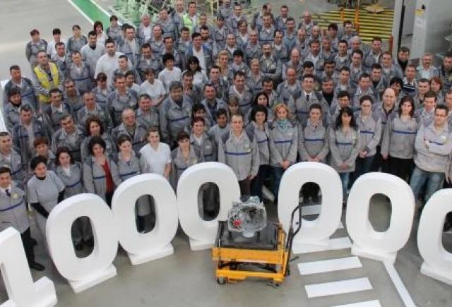 1 milion de cutii de viteze TLx fabricate la Uzina Mecanica si Sasiuri Dacia