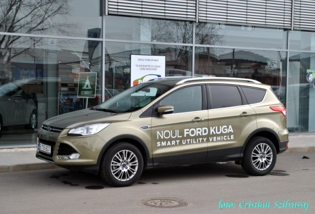 Ford Kuga s-a lansat oficial in Romania