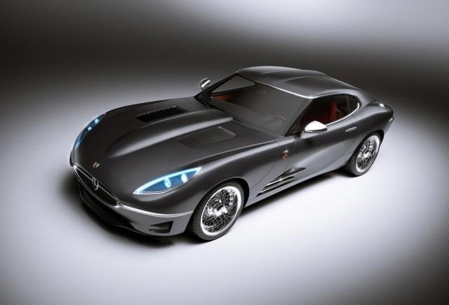 Lyonheart K, reinterpretarea celebrului Jaguar E-Type