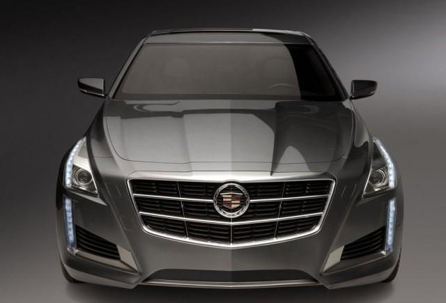 Imagini oficiale cu noul Cadillac CTS 2014