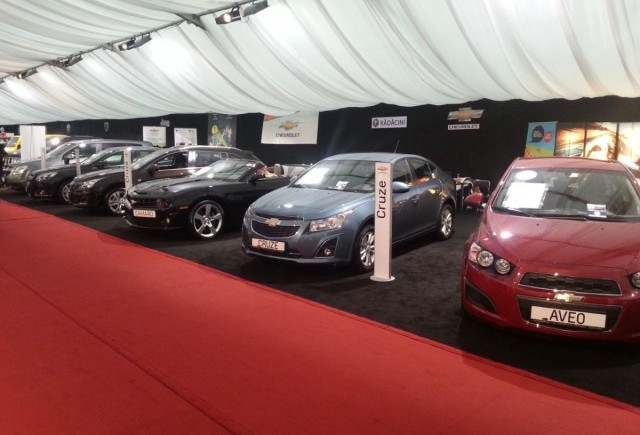 Premiere Chevrolet la Salonul Auto Moto (SAM) 2013