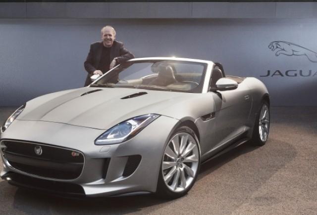 Jaguar F-TYPE a fost desemnata masina cu cel mai bun design al anului 2013