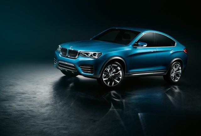 BMW Concept X4 - un nou capitol in istoria Sports Activity Coupé