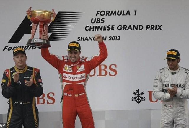 Fernando Alonso castiga Marele Premiu de Formula 1 al Chinei