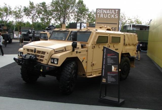 Renault Truck Defense semneaza un acord cu MFA Mizil